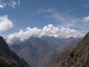 Inca Trail, Peru - 14th September 2009 - 14